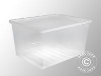Aufbewahrungsbox, Basic, 57, 4x77, 8x40, 2cm, 1 St., durchsichtig