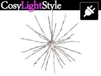 Weihnachtsdeko LED, Ø 0, 5m, warmweiß