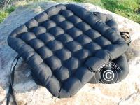 Sitzpolster, 41x44x5cm, schwarz, 4 Stk.