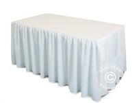 Tischdecke 152x76x74cm, Weiß
