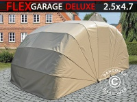 Faltgarage (Auto), ECO, 2, 5x4, 7x2m, beige