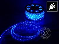 Lichtschlauch, 25m LED, Ø 1, 2cm, Mehrfachfunktion, Blau