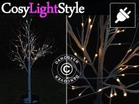 LED Birkenbaum, 1, 5m, warmweiß, 72 LED