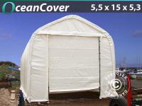 Lagerzelt Oceancover 5, 5x15x4, 1x5, 3m
