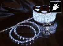 Lichtschlauch, 25m LED, Ø 1, 2cm, Mehrfachfunktion, Kalt weiß
