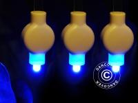 LED Partylicht für Papierlaterne, 20 Stück, Blau