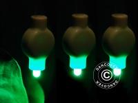 LED Partylicht für Papierlaterne, 20 Stück, Grün