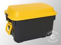 Strapazierfähige Lagerbox, Super Cargo, 73, 5x48, 5x48, 5cm, schwarz/gelb