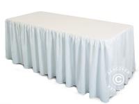 Tischdecke 183x76x74cm, Weiß