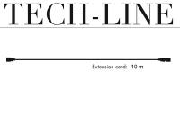 Verlängerungskabel ohne Stecker, Tech-Line, 10m