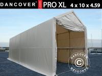 BootszeltZeltgarage Garagenzelt PRO XL 4x10x3, 5x4, 59m, PVC, Weiß