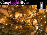 Lichterkette mit 200 LEDs, multifunktional, 15m, warmweiß