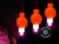 LED Partylicht, 20 Stück, Rosa