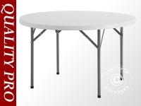 Runder Bankett-Tisch Ø 116 cm, hellgrau (5 St.)