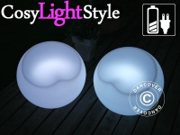 LED-Stuhl, 54Dx48Hcm, 1 Stk.