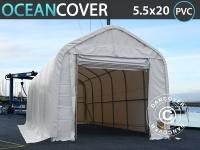 Lagerzelt Zeltgarage Lagerzelt Garagenzelt Garagenzelt Oceancover Bootszelt 5, 5x20x4, 1x5, 3m PVC