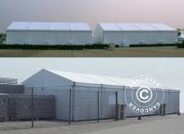 Lagerhallen Aluminium PRO 12x12m