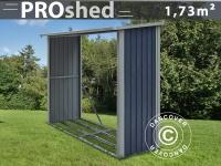 Holzlager 2, 42x0, 89x1, 56m ProShed, Anthrazit