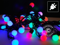 Lichterkette LED, blinkend, 10m, Mehrfarbige