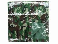 Camouflage-Plane Woodland, 2x3m