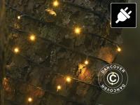 Lichterkette LED, David, Mehrfachfunktion, 9, 1m, Warmweiß