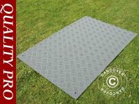Partyboden und Bodenschutzmatte, 0, 96m², 80x120x1cm, grau, 1 St.