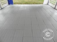 Kunstoffboden, Basic, Piastrella, Grau, 1, 44 m² (9 Stk)