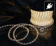 Lichtschlauch, 50 m LED, Ø 1, 2cm, Mehrfachfunktion, Warm weiß