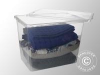 Aufbewahrungsbox, Basic, 39, 5x59, 5x43cm, 1 St., durchsichtig
