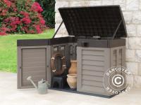 Gartenbox, 146x87x119cm, Mokka/Braun