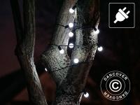 Lichterkette LED, blinkend, 10m, Kaltweiß