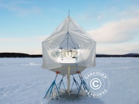 Bootsdeck-Rahmen mit Außenrand für Bootsplane, NOA, 12m/4