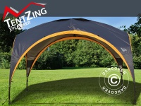 Campingzelt, TentZing®, 3, 5x3, 5m, Orange/Dunkelgrau