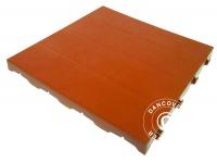Kunststoffboden, Basic, Piastrella, Terracotta-Rot, 10, 08 m²