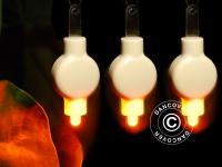 LED Partylicht, 20 Stück, Warmweiß