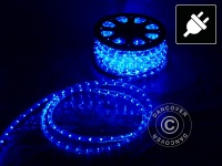 Lichtschlauch, 50m LED, Ø 1, 2cm, Mehrfachfunktion, Blau