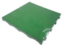 Kunststoffboden, Basic, Piastrella, Grün, 10, 08 m²
