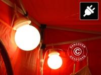 10 LED lamps Kugelleuchten