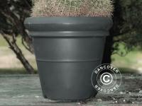 Blumentopf Azalea, Ø45x41cm, Anthrazit