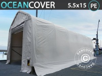 Lagerzelt Zeltgarage Lagerzelt Garagenzelt Garagenzelt Oceancover Bootszelt 5, 5x15x4, 1x5, 3m