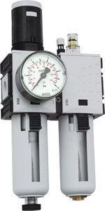 """Wartungseinheit 1/2"""" mit Manometer und Öler 0-10 bar - Vorschau"""