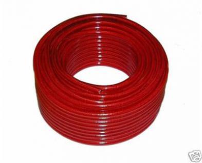 Gewebeschlauch Ø 6 x 3 mm 50 Meter bis 23 bar Druck
