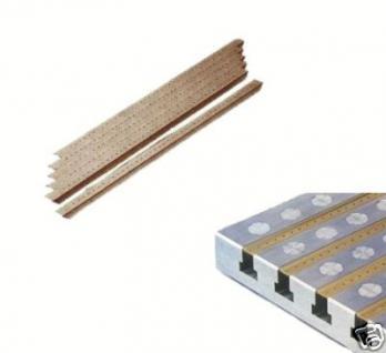 T-Nuten Abdeckleisten für 18 mm Nut 6x450 mm Aluprofil - Vorschau
