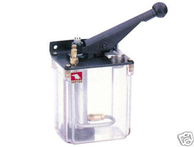 Zentralschmierung Handschmierpumpe 5 bar rechts für Öl