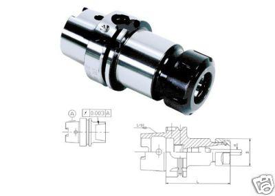 HSK 63A Werkzeugaufnahme L= 100 mm ER40 G6, 3 DIN69893A