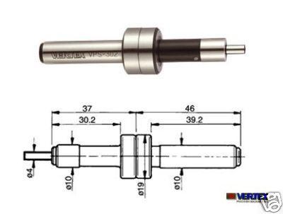 Kantentaster mechanische Ausführung 4x10x10 mm