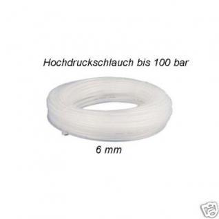Hochdruck Druckluftschlauch 6 mm Ø bis 100bar 50 Meter