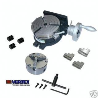 Teilapparat 150 mm + 130 mm 3B-Futter Rundtisch Vertex