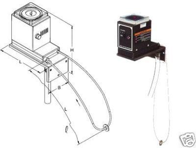 Ölabscheider Schlauchskimmer mit Zeitschaltuhr 230V