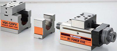 Hydraulikschraubstock 125 mm 3 teilig MC NC 40kN - Vorschau